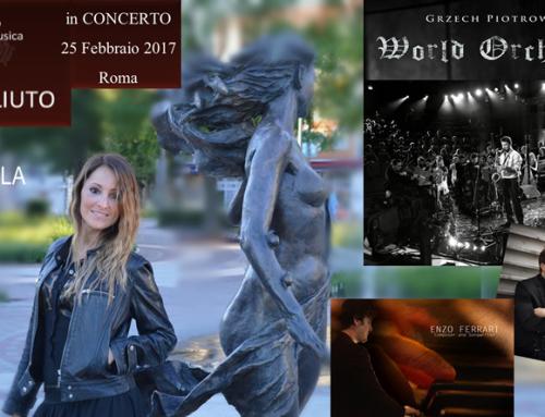 DanHila in Concerto, 25 Feb 2017 Arciliuto, Roma